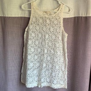 Crotchet Lace Tank Top - Forever 21